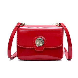 Beloved Bags - Patent Shoulder Bag