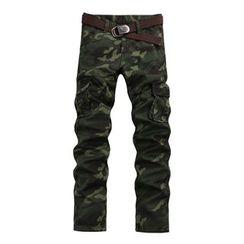 Jazz Boy - Camouflage Cargo Pants