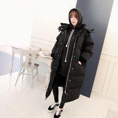 NANING9 - Hooded Padded Coat