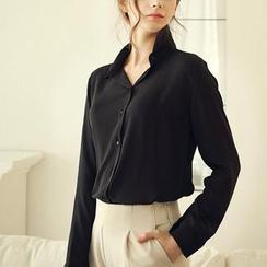 LIVA GIRL - 雪紡襯衫