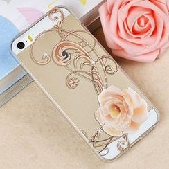 Kindtoy - Printed Transparent Case - iPhone 5s