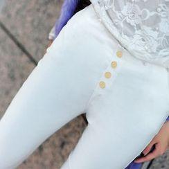 花小朵 - 窄身裤