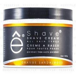eshave - Shave Cream (Orange Sandalwood)