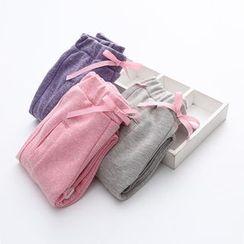 貝殼童裝 - 小童緞帶褲