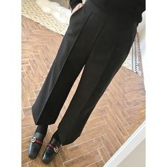 STYLEBYYAM - Band-Waist Wide-Leg Pants