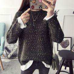 Qimi - Mock Two-Piece Sweater