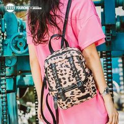 Fourone - Print Studded Backpack