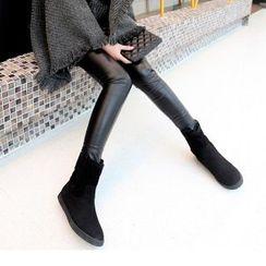 Mancienne - Fleece-Lined Short Boots