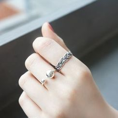 Love Generation - Braided Open Ring