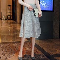 Seoul Fashion - Lace A-Line Skirt