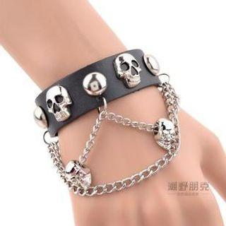Trend Cool - Skull Studded Bracelet