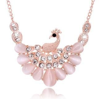 Best Jewellery - Gemstone Peacock Necklace