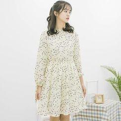 DK Yannie - Floral Chiffon Dress