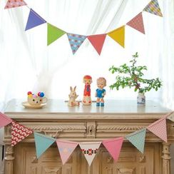 Hera's Place - Set of 12 : Party Coloured Flags