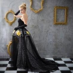 Coeur Wedding - 露肩魚尾婚紗禮服