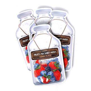 Missha - Fruit Mix Sheet Mask - Berry Juice