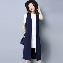 Romika - Sleeveless Long Cardigan