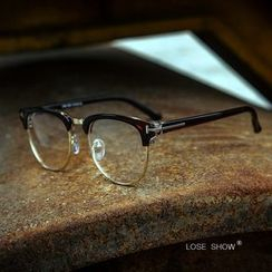 Lose Show - Half-Frame Glasses