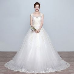 Amanecer - Sleeveless Wedding Ball Gown