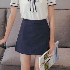 Porta - 纯色裙裤