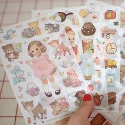 Tivi Boutique - Set of 6: Doll Sticker