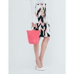 GUMZZI - Pattern Pencil Skirt