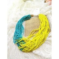 Trava - Knit Necklace