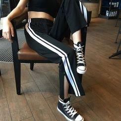 Tiny Times - 开衩运动裤