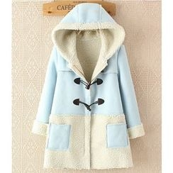 Citree - Panel Toggle Hooded Coat