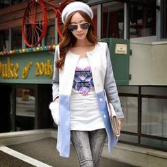 Dabuwawa - Long-Sleeve Applique T-Shirt