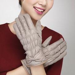 Leann - 蝴蝶结手套