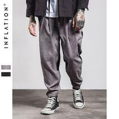Newin - 拼接哈倫褲