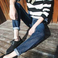 以路 - 純色牛仔褲