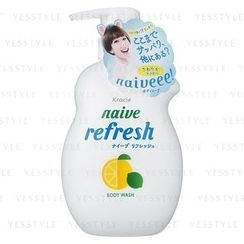 Kracie - Naïve Refresh Sea Mud Body Wash (Grapefruit)