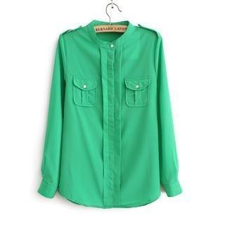 Flower Idea - Chiffon Shirt