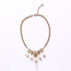 O.SA - Faux-Pearl Necklace
