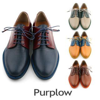 Purplow - Color-Block Oxfords