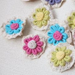 Fairyland - Flower Brooch
