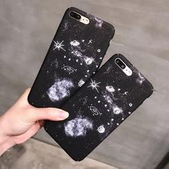 Homap - Galaxy Print Mobile Case - iPhone 7/ 7plus/ 6s / 6s Plus