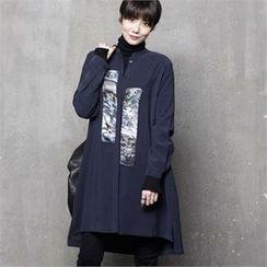 HALUMAYBE - Printed Long Shirt
