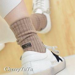 櫻桃兔兔 - 羅紋襪