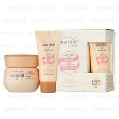 Etude House - Nutrifull Shea Butter Cream Set (2 items): Cream 60ml + Sleeping Pack 20ml