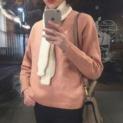 Dute - Mock Neck Sweater