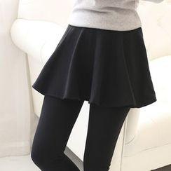 florelle - Inset Skirt Leggings