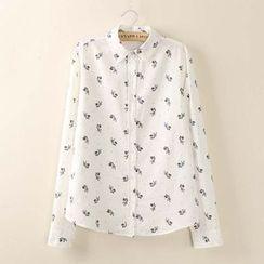 Tangi - Zebra Print Shirt