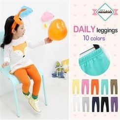 nanakids - Kids Colored Leggings