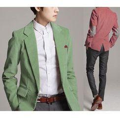 百高 - 燈芯絨西裝外套