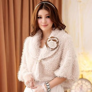 JK2 - Faux-Fur Cape Jacket