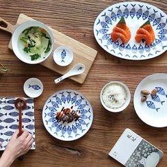 Kawa Simaya - Fish Print Tableware
