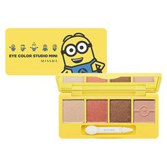 Missha - Minions Edition : Eye Color Studio Mini (#2)